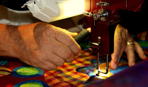 Remarkable Quilts - At Home With Mark Sherman: Poppy & Using the A1 longarm quilting machine Adamdwight.com