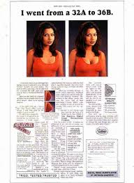 digital image manipulation bust print ad by contract print ad by contract advertising