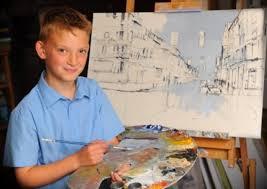 14 yaşındaki milyoner ressam