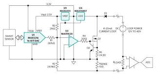 adding a digital interface to accurate 4 20ma loop maxim 4 20ma sensor reference design