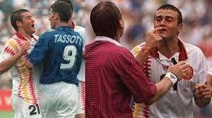 Tassotti ritrova Luis Enrique 26 anni dopo la gomitata al Mondiale - La  Gazzetta dello Sport