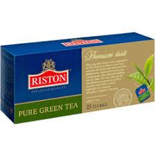 """<b>Чай</b> """"<b>Riston</b>"""" <b>Pure Green Tea</b>, 25 пакетиковx2 г, <b>зеленый</b> купить в ..."""