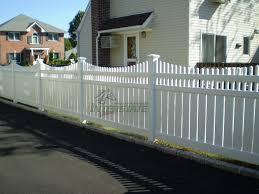 vinyl picket fence front yard. Interstatevisions Vinyl Picket Fence Front Yard E