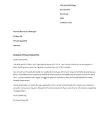 Sample Scholarship Request Letters Sample Scholarship Request Letter Application Sample Scholarship