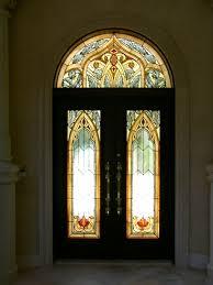 leaded glass entry door inserts gallery doors design modern