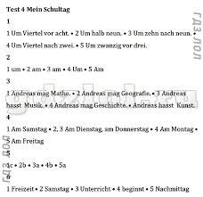 ГДЗ Контрольные задания Горизонты по немецкому языку класс Аверин Тест 1Тест 2Тест