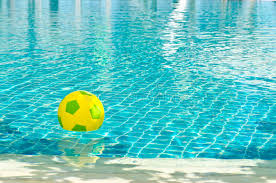pool water with beach ball. Download Beach Ball In Pool With Sun Reflection Stock Image - Of Concepts, Outdoors Water H