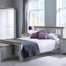 Painted Bedroom Furniture Uk Hutchar Buxton Light Grey Painted Bedroom Furniture