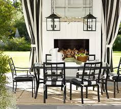 riviera rectangular table chair dining set