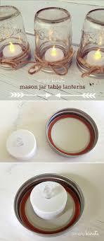 Table Decorations Using Mason Jars Rustic Wedding Ideas 100 Ways to Use Mason Jars 86