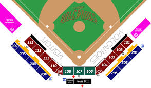 Volcanoes Stadium Seating Chart Seating Chart Volcanoes Stadium Types Seating Type Single