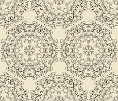 Vintage Wallpaper Patterns Delectable Vector Seamless Vintage Wallpaper Pattern By Alexmakarova GraphicRiver