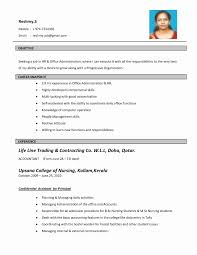 Resume Format With Photo Download Awesome Free Resume Templates