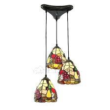 unique tiffany style three light multi pendant lights tiffany style pendant light fixtures