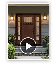 craftsman style front doorsKansas City Entry Doors  Clopay Mission Style Fiberglass Entry Doors
