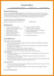 9 School Nurse Resume Letter Setup