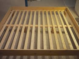 Build Your Own King Slat Bed for $150