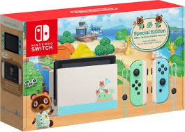 Nintendo Switch <b>Animal Crossing</b>: <b>New</b> Horizons Edition 32GB ...