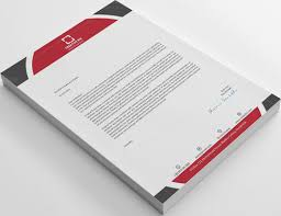 What Is Professional Letterhead Design Stylish And Professional Letterhead For 5 Logicsdesigns Fivesquid