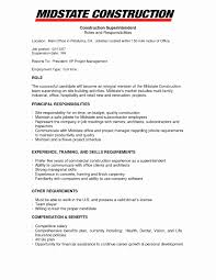 Office Manager Sample Resume Valid Sample Resume Construction Office Manager Bluegenieco 53