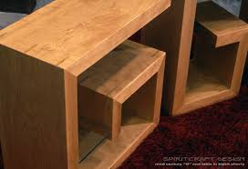 mod century g end table key shaped mid modern furniture from spiritcraft interior design dundee il