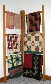 Best 25+ Quilt racks ideas on Pinterest | DIY quilting rack, Quilt ... & Corner Quilt Rack on Etsy, $59.00 Adamdwight.com