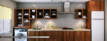 3d visualization modern kitchen by freelance
