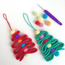 Christmas Ornament Patterns Delectable 48 Cute Free Christmas Ornament Crochet Patterns