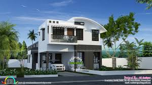 Curved roof design homes