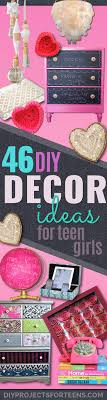 43 most awesome diy decor ideas for teen girls projects room fun crafts and tweens cool bedroom roomteen girl ideas