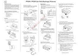 Psi PP 204 Yazıcı (Prınter) - Kullanma Kılavuzu - Sayfa:9 - ekilavuz.com