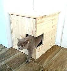 cat box house cat box house corner litter cover pet by storage bin ideas cardboard in cat box house