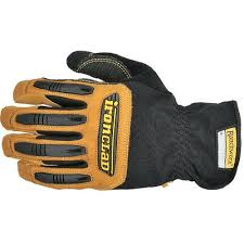 Ironclad Black Tan Ranchworx Rwg2 Leather Gloves Size Xl 696511814955 Ebay