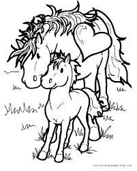 Small Picture free coloring pages of horses and ponies free printable horse