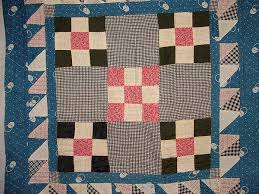 245 best Quilting    Doll Quilts images on Pinterest   Fabric ... & DQ110 Nine-patch/Double Nine-Patch Doll Quilt with Triple Border Please view Adamdwight.com