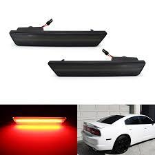 2004 Jaguar Xj8 Side Marker Light Dodge Neon Srt 4 Logo Side Marker Light Overlays Film Black