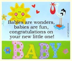 New Baby Congrats Congratulation Card For New Baby Sample Messages For Your Baby
