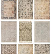 vintage inspired rugs from joanna gaines farmhouse style area rugs for every room in your