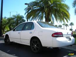 1996 Cloud White Nissan Altima Gxe 38229735 Photo 8