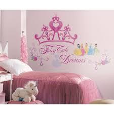 roommates rmk1580gm disney princess crown l stick giant wall decal