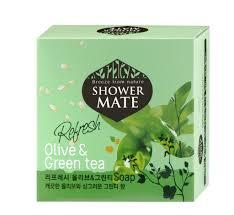 Купить <b>Мыло косметическое Shower Mate</b> Оливки и зеленый чай ...