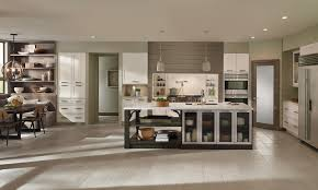 kitchen modern. Elan Cabinets In An Open Kitchen Design Modern
