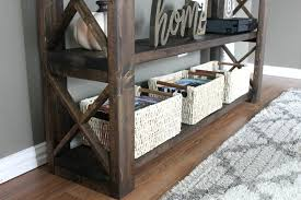and since i stuck to the same style as my other diy pieces like this blanket ladder my console will fit right in wherever it ends up