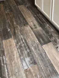 luxury vinyl plank flooring rustic gray