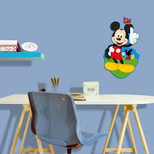decofun mickey mouse foam wall décor