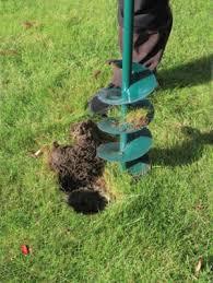 garden auger. Primrose Garden Fence Post Hole Auger D15cm