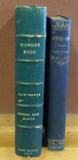a wonder book for s and boys ticknor reed and fields very good 1852 b000mhwa2w very good binding hardcover jacket no jacket cloth first