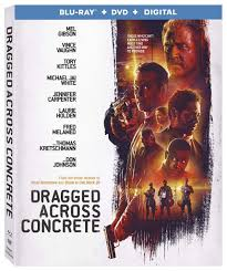 dragged across concrete is the third film from s craig zahler that focuses on two police detectives mel gibson and vince vaughn who are put on suspension