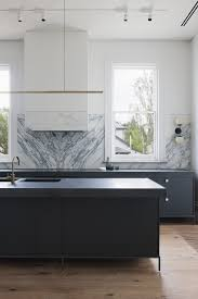 cool track lighting. Marble Backsplash Modern Kitchen Track Lighting Cool