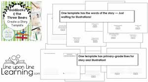 How To Plan A Story Template Goldilocks And The Three Bears Bundle Lesson Plan Ela Math And Story Retelling